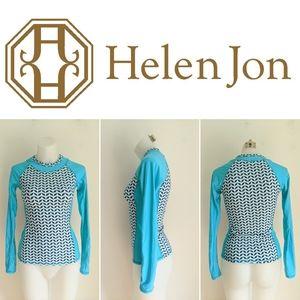 Helen Jon Long Sleeve Rashguard, XS
